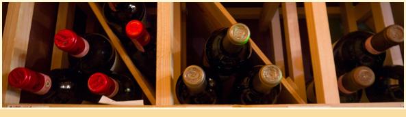 Weinkeller - sorgfältig ausgewählte Weine vorwiegend aus Italien