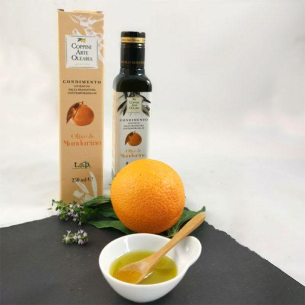 Olive & Mandarino mit frischer Mandarine